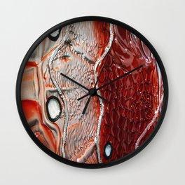 Don't Harm Animals - Glass Art Wall Clock