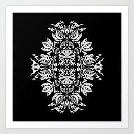 Abstract Flora Art Print
