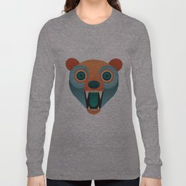 Geometric Bear Long Sleeve T-shirt