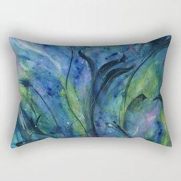 """""""New Beginning"""" Original Artwork by Tracy Breithaupt Rectangular Pillow"""