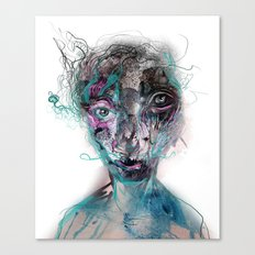 grotesque/3 Canvas Print