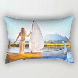 Light Sets Sail Rectangular Pillow