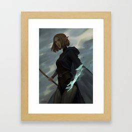 The trespasser Framed Art Print