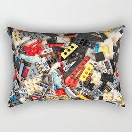 Details of construction toys Rectangular Pillow