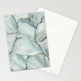 Aquamarine Stone Stationery Cards