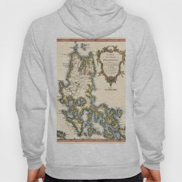Map Of The Philippines 1752 Hoody