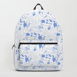 Creamy blue Backpack