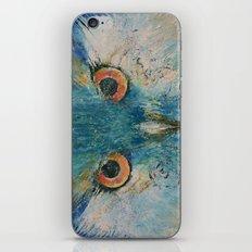 Turquoise Owl iPhone & iPod Skin