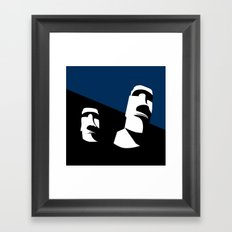 THEY Framed Art Print