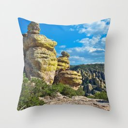 Chiricahua National Monument #3 Throw Pillow