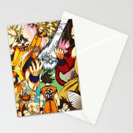 change goku Stationery Cards