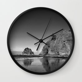 End Of The Walk Wall Clock
