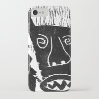bull iPhone & iPod Cases featuring Bull by Hadar Geva