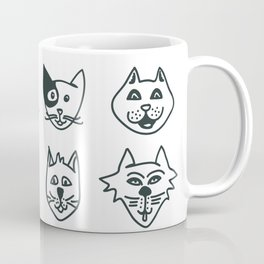 Cats - Who let the dog in? Coffee Mug
