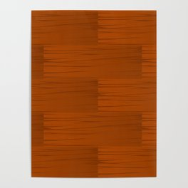 Wood Grain Pattern Poster