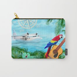 Tropical Travels Carry-All Pouch