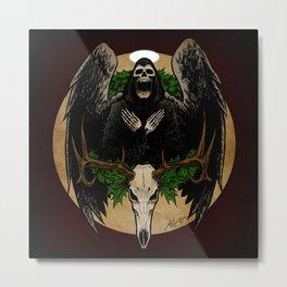 The Spirit of Creepmas Metal Print