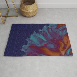 The Carnation Experiment Rug