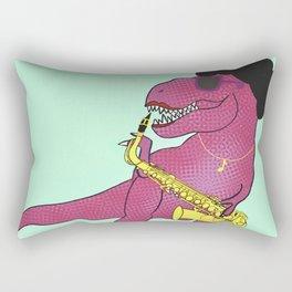 She-Rex Sax Rectangular Pillow