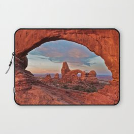 Arches National Park - Turret Arch Laptop Sleeve
