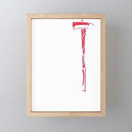 Support Firefighter Framed Mini Art Print