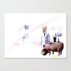 McPig Canvas Print