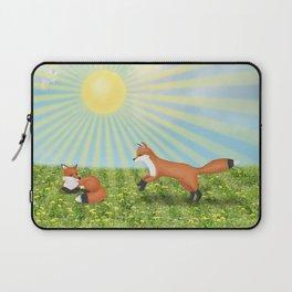 sunshine foxes Laptop Sleeve