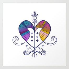 Voodoo Love Art Print