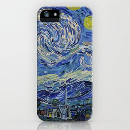 Starred Night iPhone Case