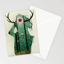 Nature Goddess Stationery Cards