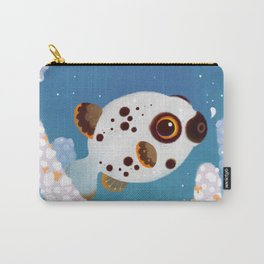 Blackspotted puffer Carry-All Pouch