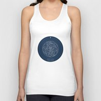 doctor Tank Tops featuring Doctor Who: Wibbly Wobbly by Sof Andrade