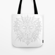 Heart of a Lion - Gray Tote Bag