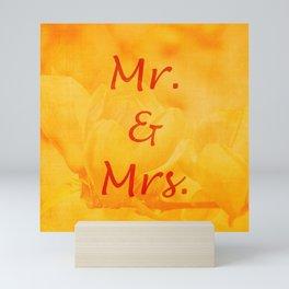 Mr. and Mrs. Mini Art Print