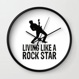Rock Music Wall Clock