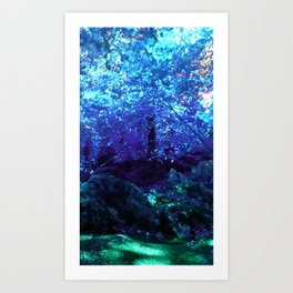 Fern Garden Art Print