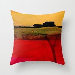 Mesa No. 100A by Kathy Morton Stanion Throw Pillow