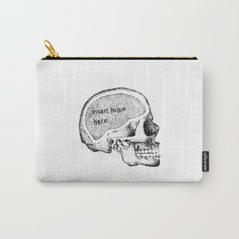 insert here- skull Carry-All Pouch