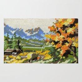 Found Tapestry Landscape Rug