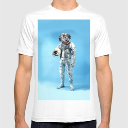 Astronaut-Dalmatian T-shirt