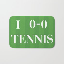 I heart Tennis Bath Mat