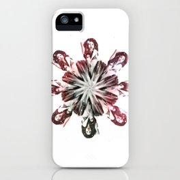 The House Of Kern - Burlesque Flower iPhone Case