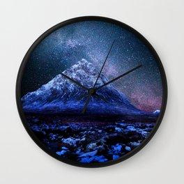 Pyramid Mountain Wall Clock
