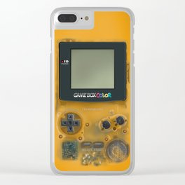Classic retro transparent yellow game watch iPhone 4 5 6 7 8, tshirt, mugs and pillow case Clear iPhone Case