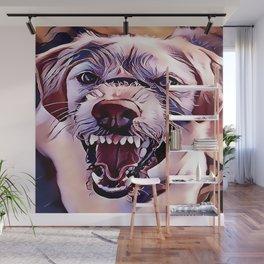 Beware of the Dog Wall Mural