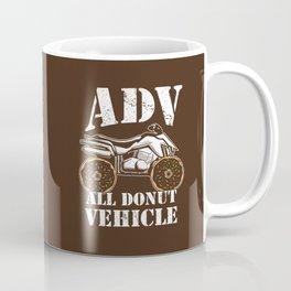 ADV All Donut Vehicle - Donut Quad Bike Coffee Mug