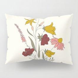 Wildflowers Bouquet Pillow Sham