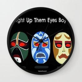 Light Up Them Eye Boys Wall Clock
