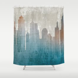 Urban Reflections 1 Shower Curtain