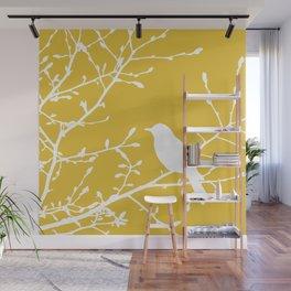 bird on tree Wall Mural